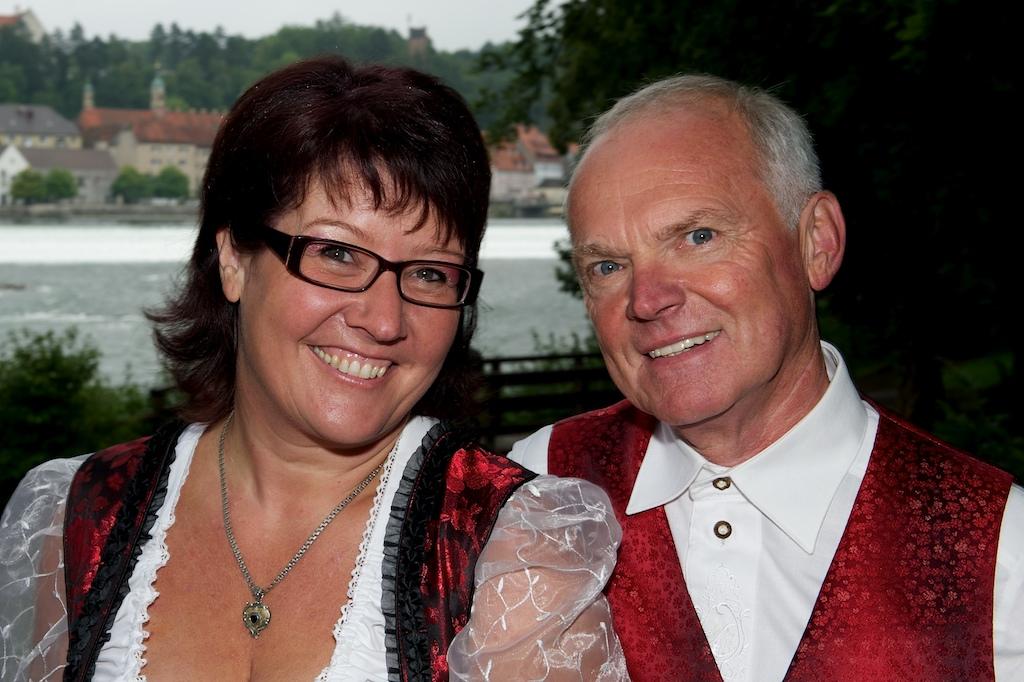 Hochzeitsfoto beim Mutterturm Landsberg