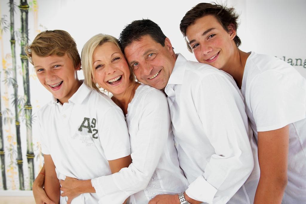 Anette und Family