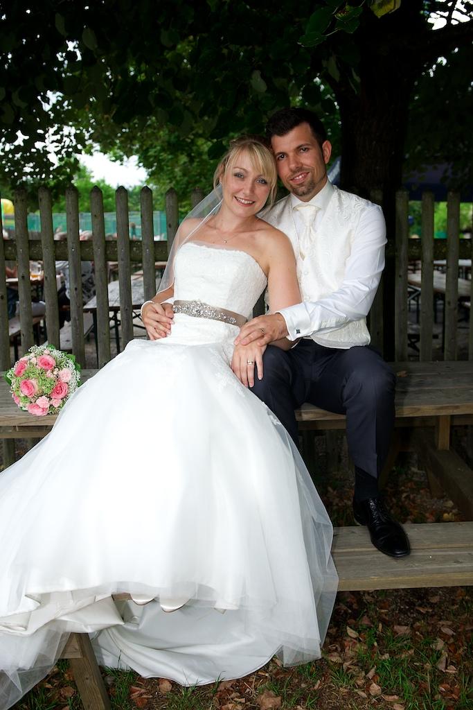 Hochzeitsfoto im Forsthaus Kasten