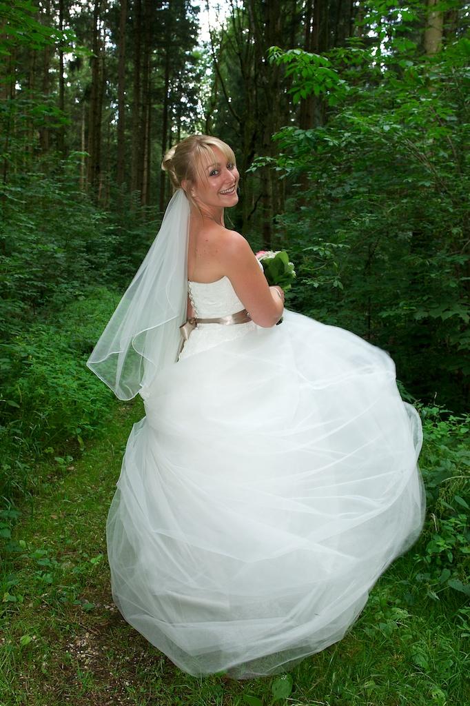 Mascha Glatzeder's Foto vom Brautkleid