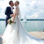 Hochzeitsbild am Starnberger See