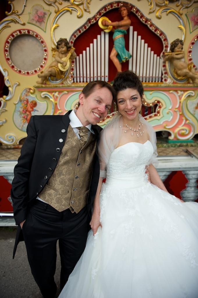 Hochzeit auf der Wiesn