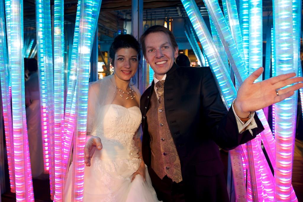Hochzeitsfoto auf der Wiesn von Mascha Glatzeder