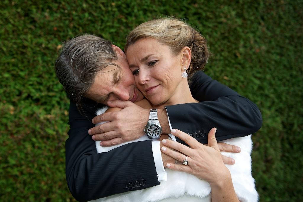 Inniges Hochzeitsfoto von Mascha Glatzeder