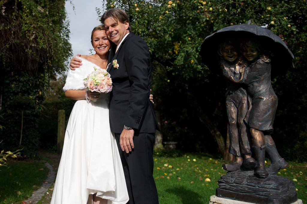 Hochzeitsfoto beim Stanglwirt