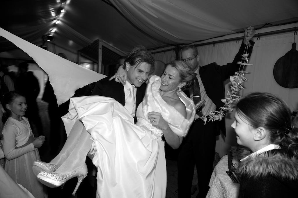Hochzeitsbrauch während der Feier