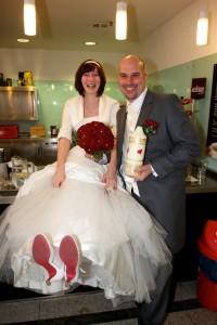 5 Hochzeitsfoto nach der Trauung