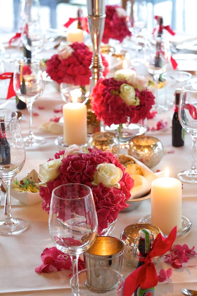 Hochzeit Tischdeco
