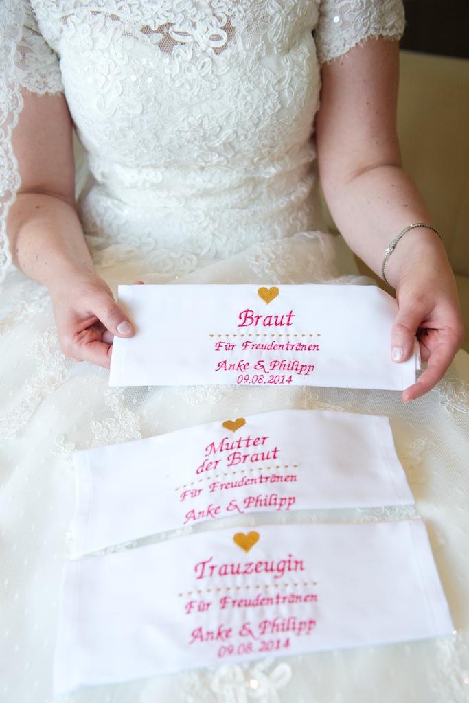 Brauttaschentücher