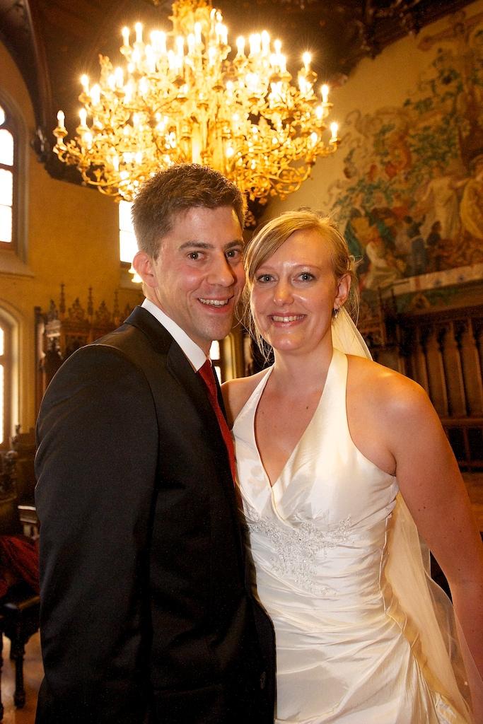 Brautpaar Rathaus München