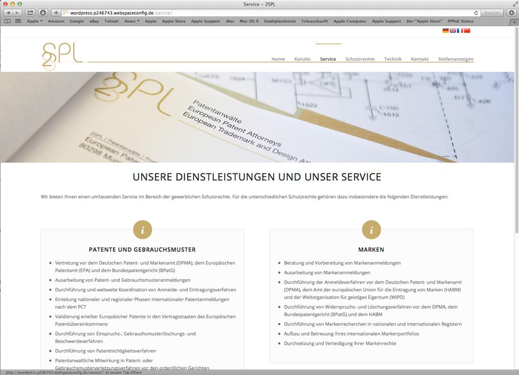 Patentanwalt 2SPL
