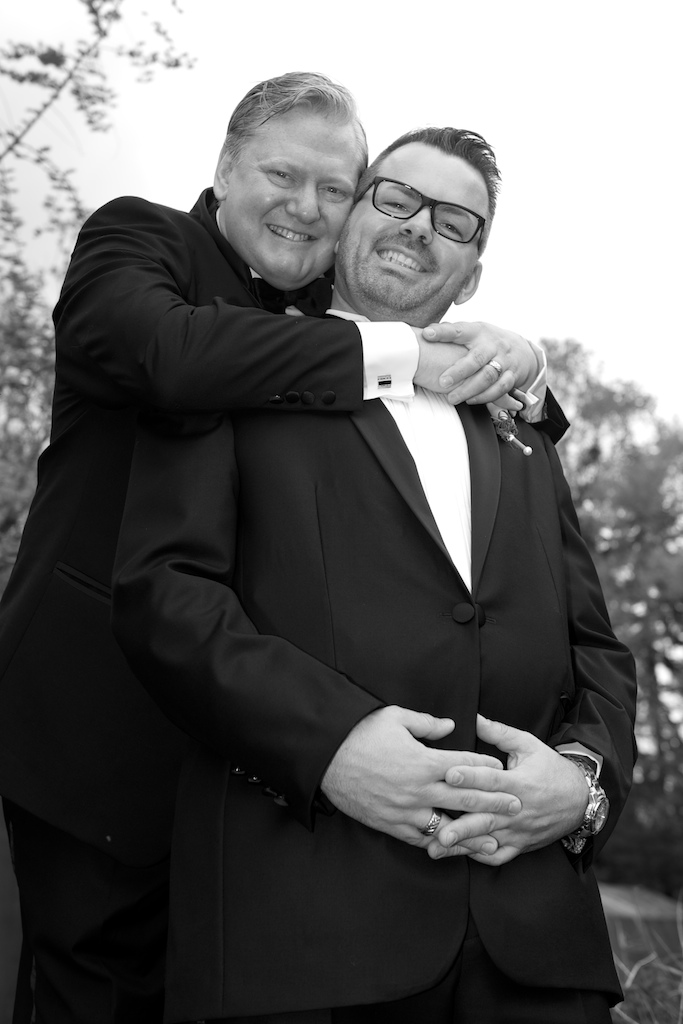 Schwules Brautpaar