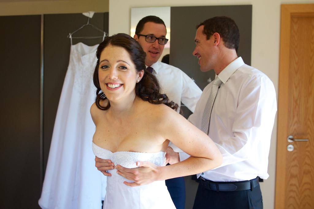 Hochzeitsfoto Vorbereitung
