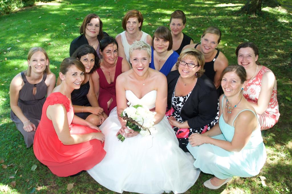 Hochzeit Gaestefoto