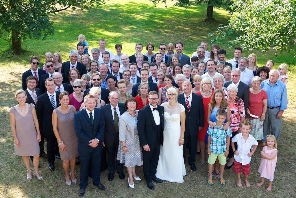 Hochzeit Gruppenbild