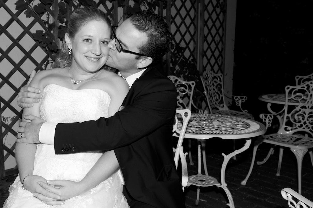 Hochzeits-Kuss