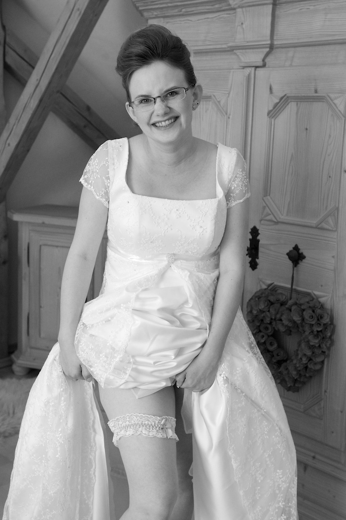 Braut-Strumpfband