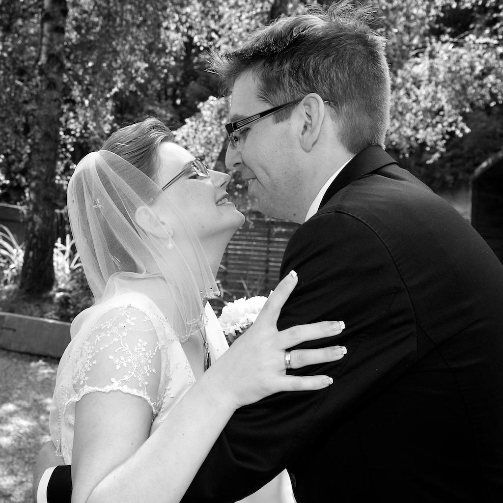Hochzeits Kuss