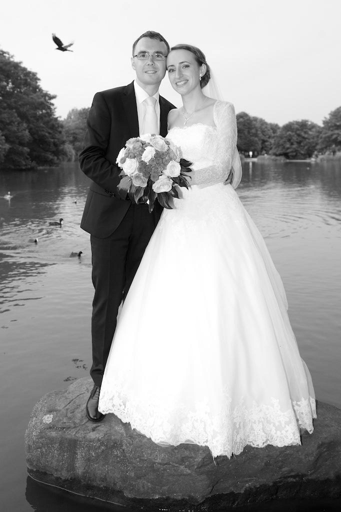 Hochzeitsbild sw