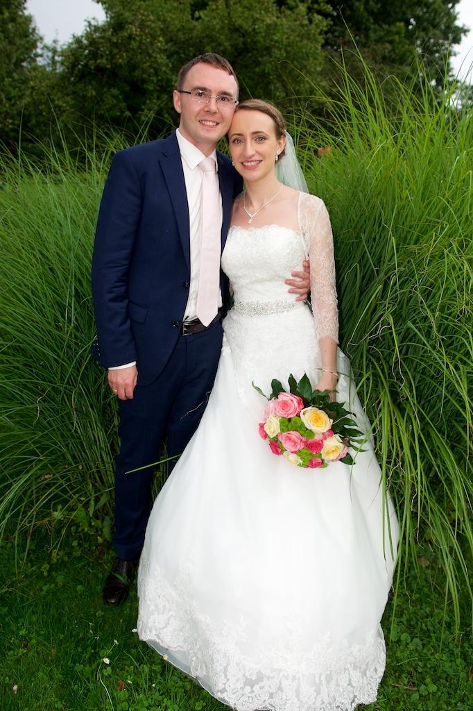 Hochzeitsfoto Rosengarten