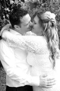 Hochzeitskuss Muenchen