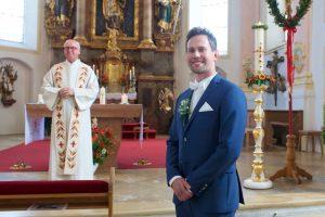 Braeutigam Hochzeit